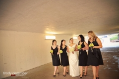 WEDDING PIC ECKLES STADIUM