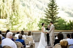 WEDDING PIC SNOWBIRD